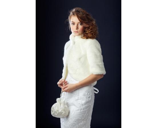 Шубка на свадьбу №133 для невесты напрокат