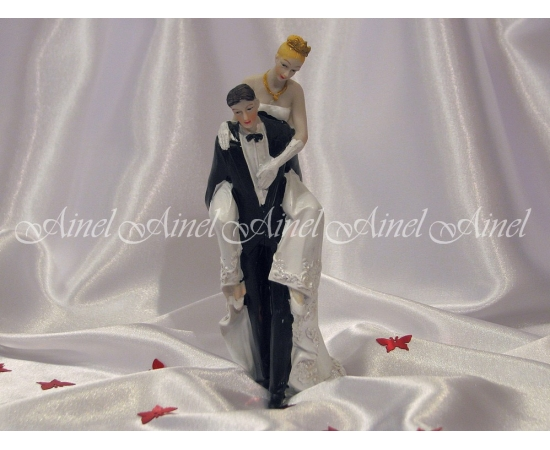 "Фигурка на торт ""Свадебная пара"""