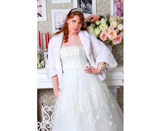 Свадебная накидка №91 для невесты напрокат