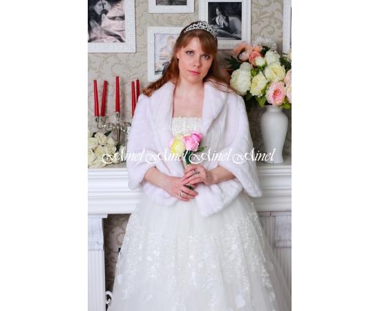 Накидка на свадьбу №91 для невесты прокат