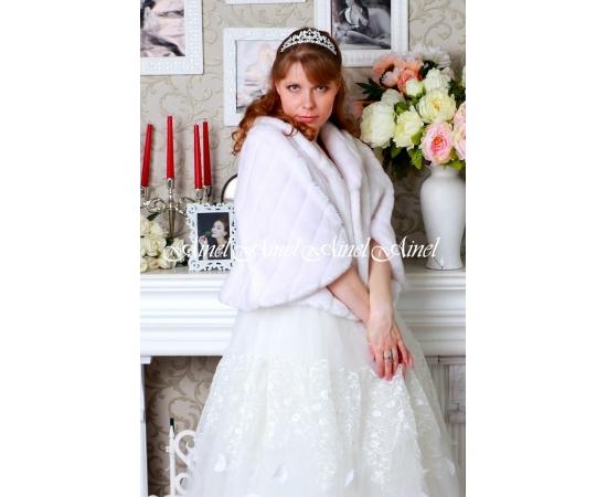 Свадебная накидка №91 для невесты в прокат