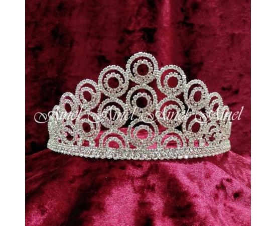 Корона свадебная №4263 стразы