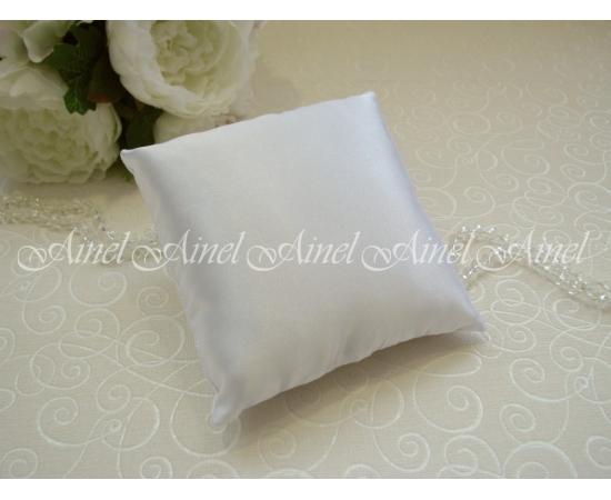 Заготовка подушечки для колец белая