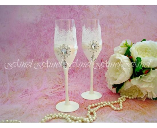 """Бокалы свадебные """"Шампань"""""""
