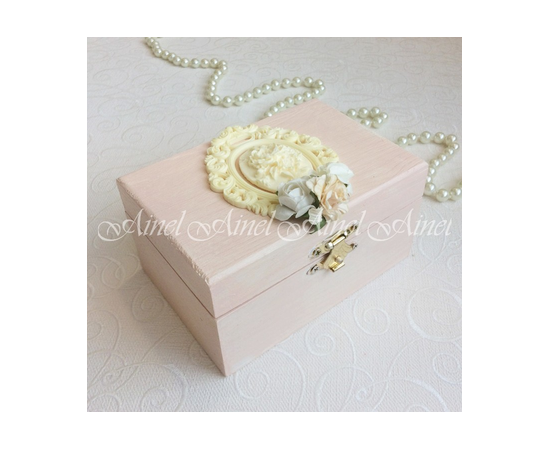 """Свадебная коробка для подушечки """"Луара"""""""