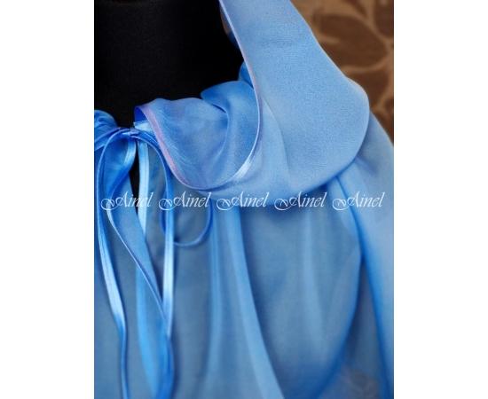 Церковный платок голубой